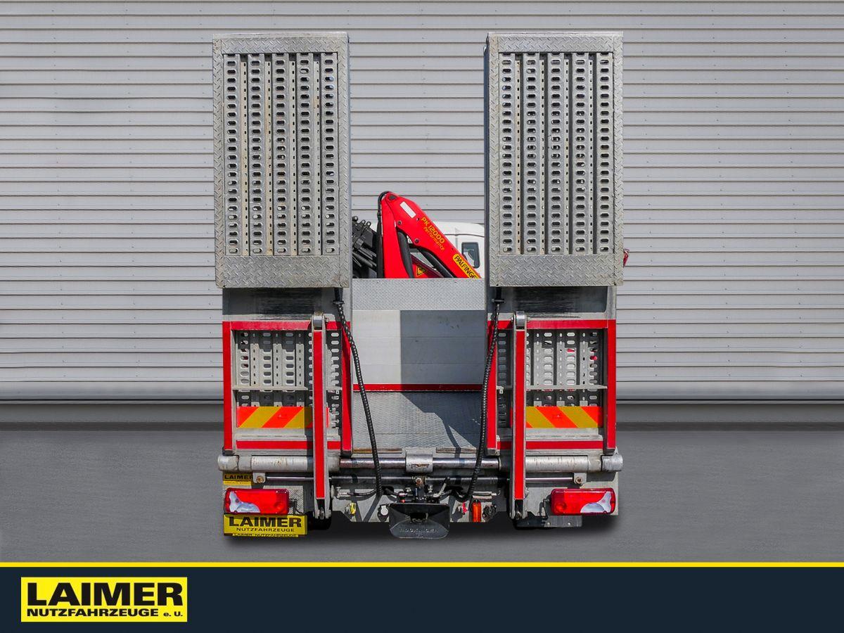 MAN TGS 26.360 Baggertransporter