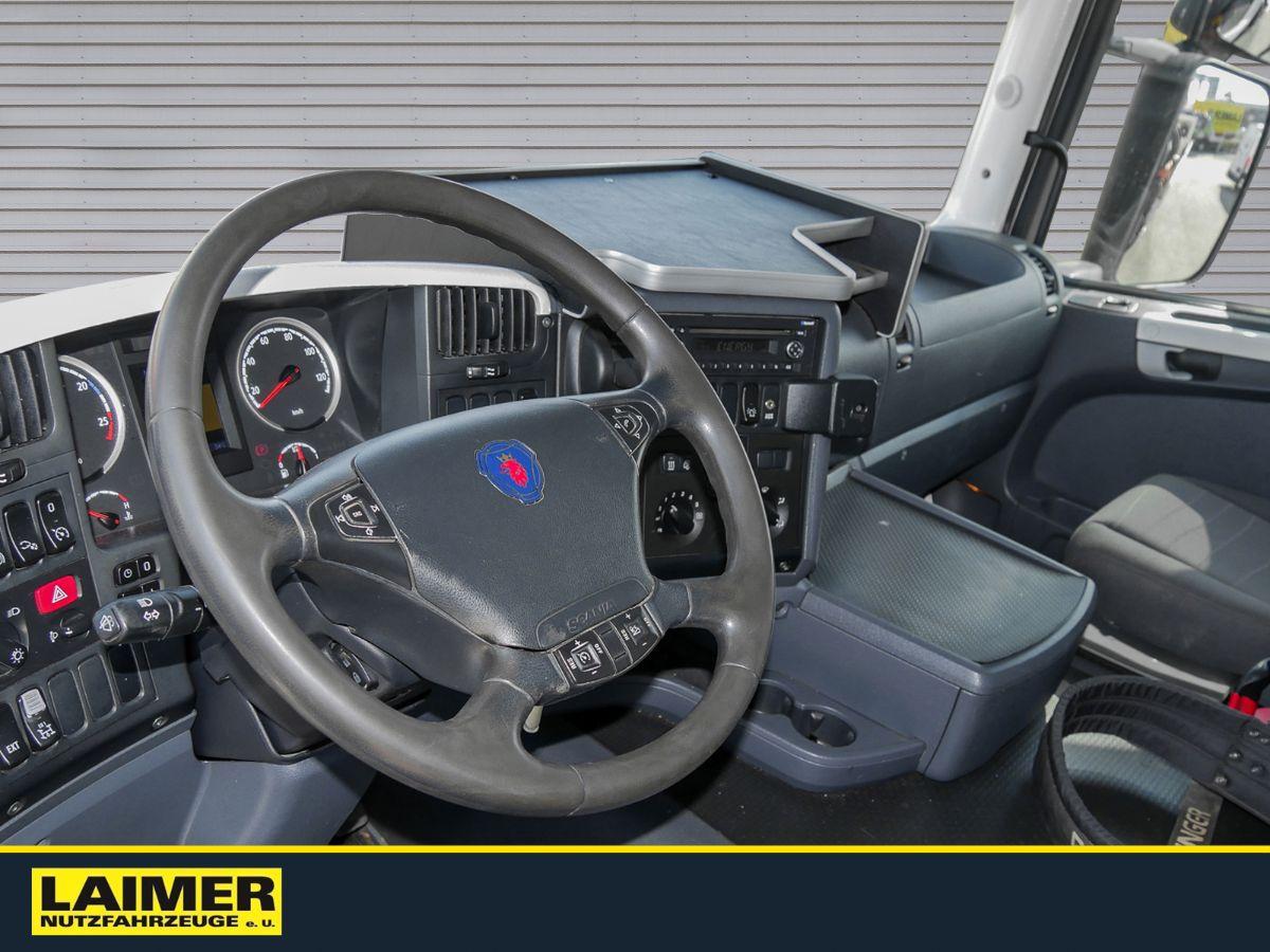 Scania G420 Pritsche Frontkran
