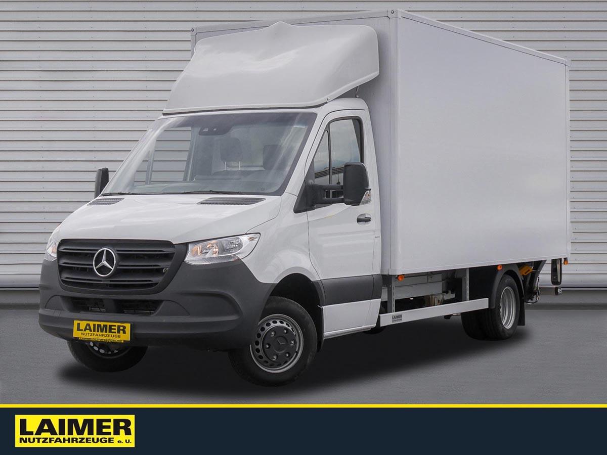 Mercedes Benz 516 Koffer/LBW