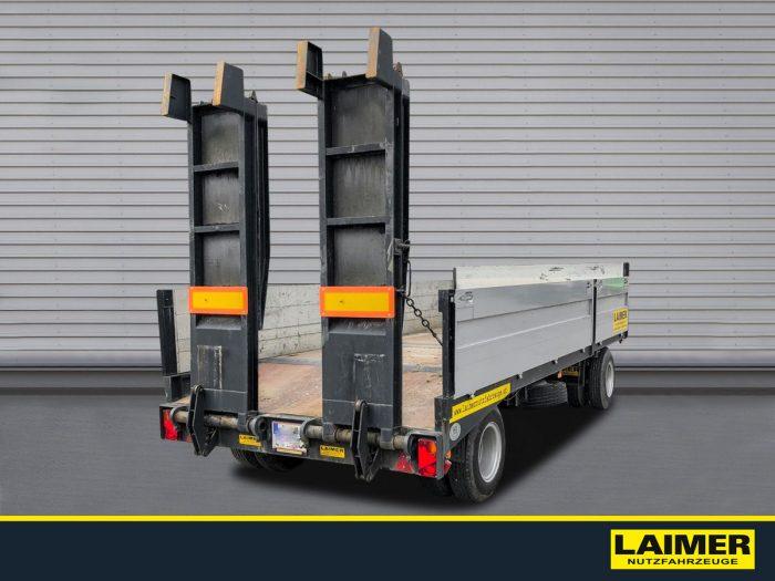 Gföllner 2-Achs Tieflader-Transportanhänger AP 80 T Laimer Nutzfahrzeuge