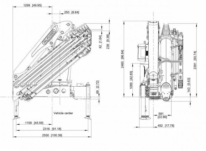 MAN TGS 35.510 Sattelzugmaschine/Frontkran